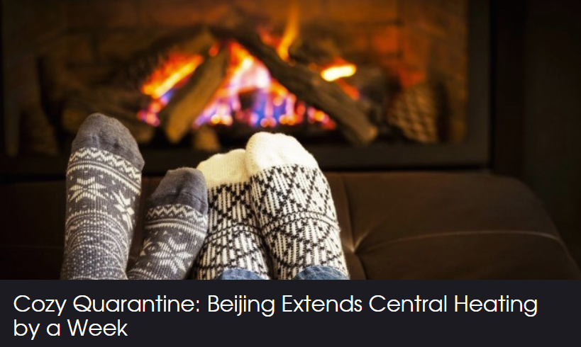 A cozy spring at home in Beijing